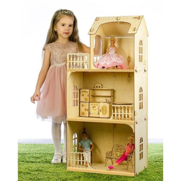 Теремок Кукольный дом Любава конструктор фото