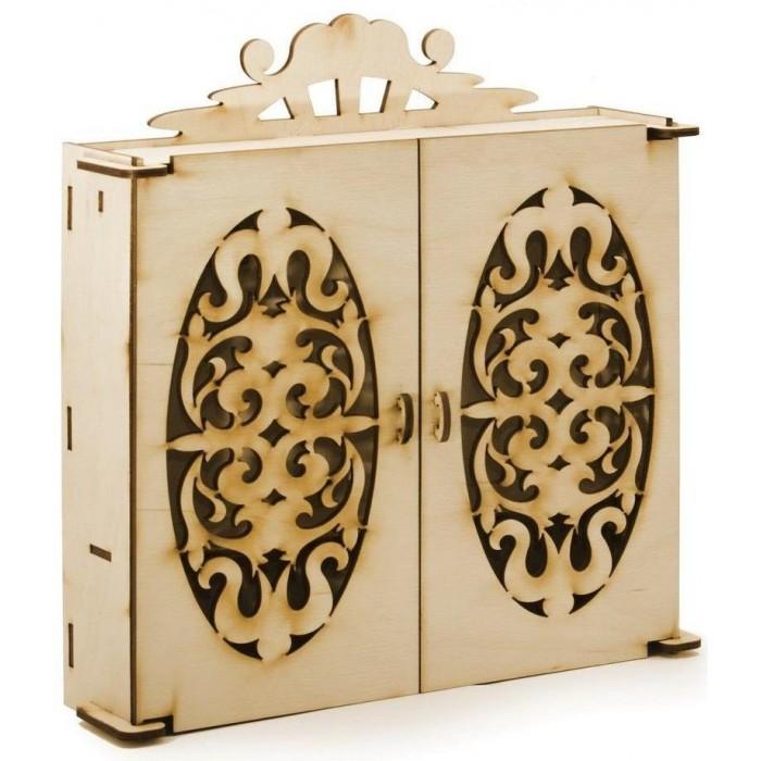 Кукольные домики и мебель Теремок Шкаф для кукол Барби конструктор интерактивная мебель для барби paremo интерактивная мебель для барби