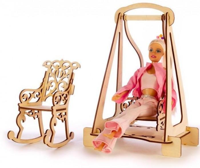 Кукольные домики и мебель Теремок Качалки для кукол Барби конструктор