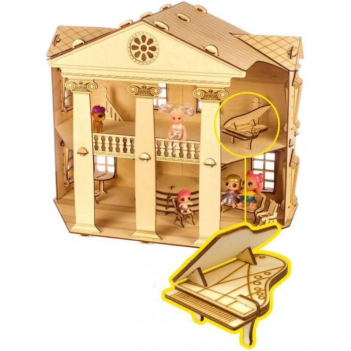 Кукольные домики и мебель Теремок Кукольный домик Белый дом конструктор