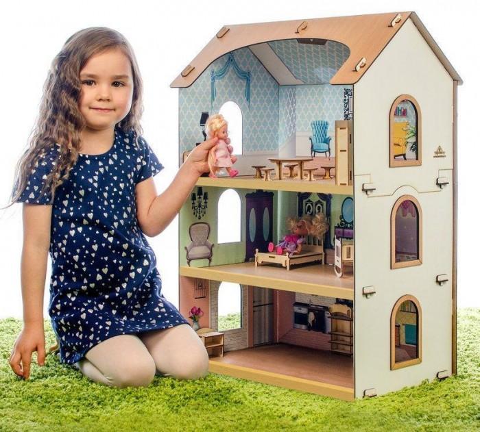 Купить Кукольные домики и мебель, Теремок Кукольный домик София конструктор