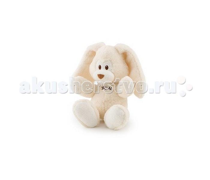Мягкая игрушка Trudi Заяц Вирджилио кремовый 36 смЗаяц Вирджилио кремовый 36 смМягкая игрушка Trudi Заяц Вирджилио кремовый 36 см. Плюшевый заяц по кличке Вирджилио — это невероятно красивая и мягкая игрушка! Его голубая шерстка никого не оставит равнодушным! Он станет прекрасным подарком и для маленького ребенка и для вас самого. Ведь сделана игрушка из мягкого и приятного материала. Поэтому при встрече с Вирджилио вам не удастся подавить соблазн, и вы будете тискать и трепать плюшевое чудо.  При всем этом, игрушка очень прочная. Высокое качество материалов позволяет стирать изделие в стиральной машинке. И при этом без ущерба для цвета и формы.  Высота игрушки: 36 см<br>