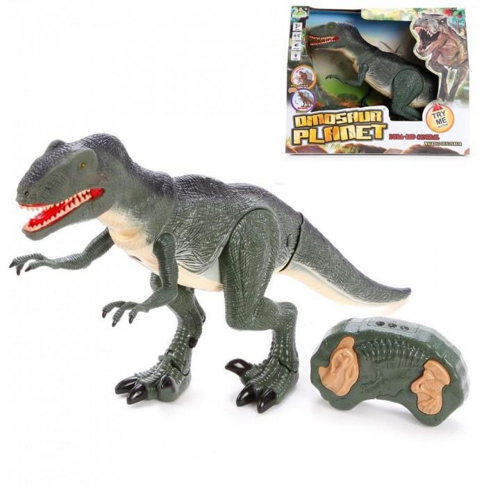 Фото - Радиоуправляемые игрушки Наша Игрушка Динозавр радиоуправляемый RS6124A радиоуправляемый динозавр cs toys тираннозавр rs6124a