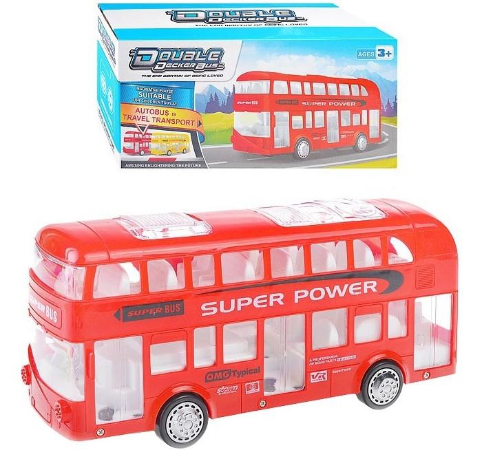 Машины Наша Игрушка Автобус электрифицированный 038-2A