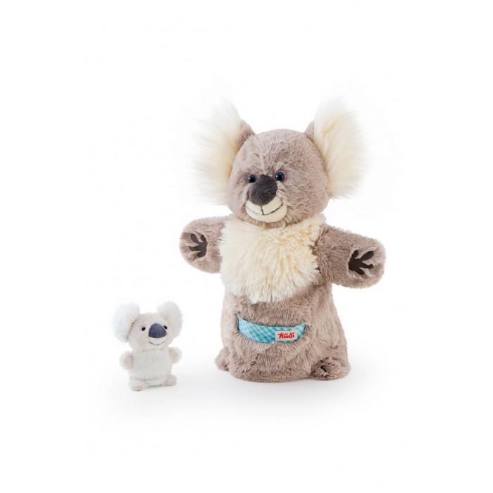 Trudi Игрушка на руку Коала с детенышем 28 см