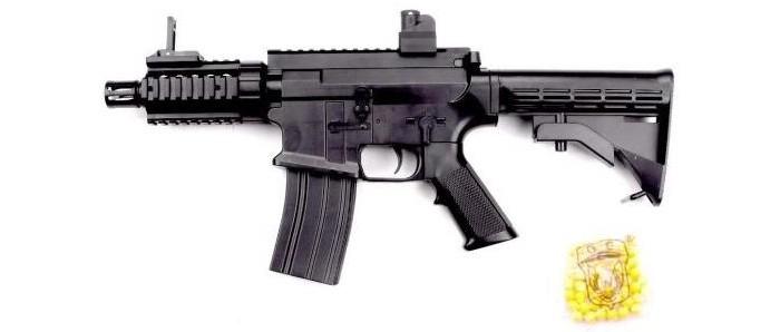 Фото - Игрушечное оружие Наша Игрушка Автомат механический с пулями 50 шт. автомат с трещеткой 23см наша