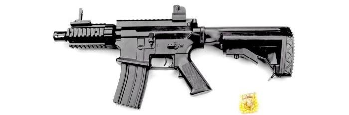 Фото - Игрушечное оружие Наша Игрушка Автомат механический с пулями 50 шт. GE2202 автомат с трещеткой 23см наша