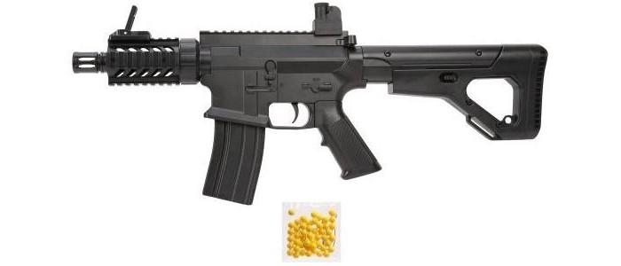 Фото - Игрушечное оружие Наша Игрушка Автомат механический с пулями 50 шт. GE2204 автомат с трещеткой 23см наша