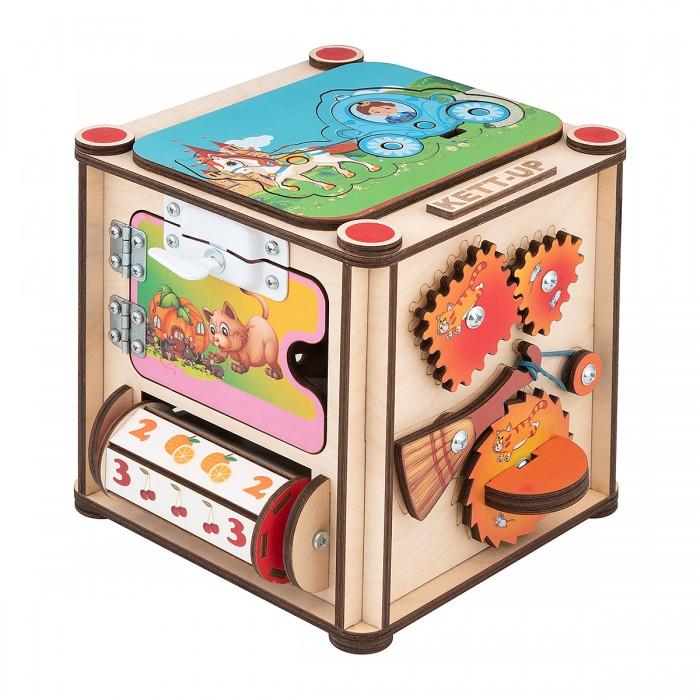 Картинка для Деревянная игрушка Kett-Up Бизи-куб Золушка со светом