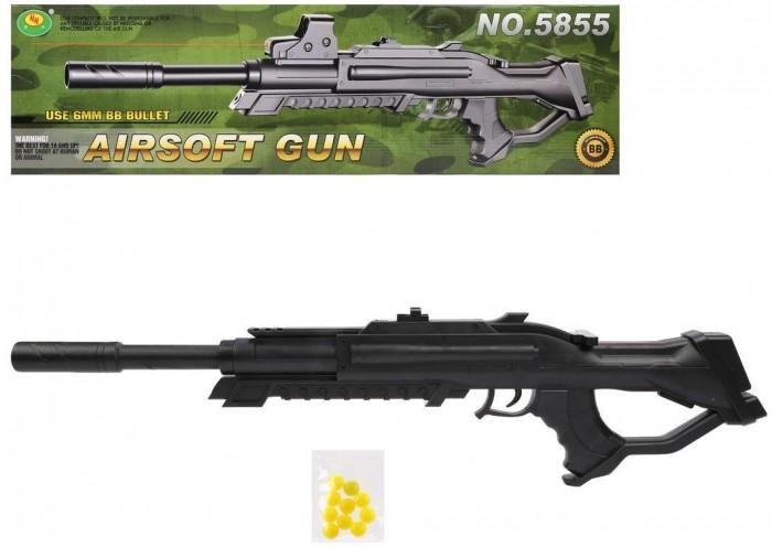 Фото - Игрушечное оружие Наша Игрушка Автомат механический 71.5 см автомат с трещеткой 23см наша