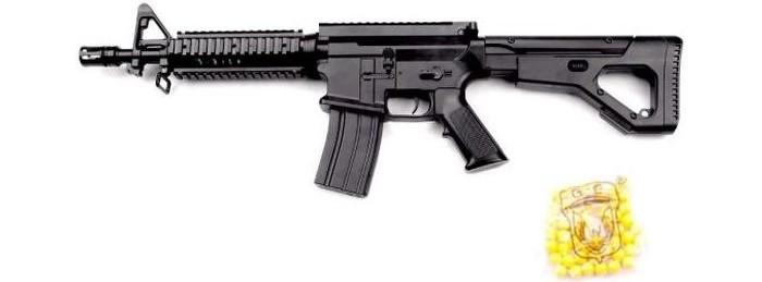 Фото - Игрушечное оружие Наша Игрушка Автомат механический с пулями 50 шт. GE2209 автомат с трещеткой 23см наша