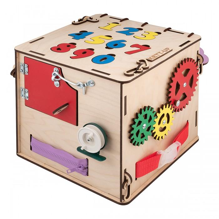 Картинка для Деревянная игрушка Kett-Up Бизи-куб Цифры