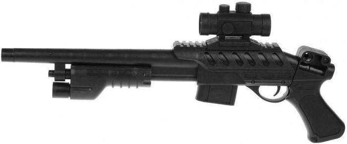 Фото - Игрушечное оружие Наша Игрушка Автомат механический с пулями 10 шт. автомат с трещеткой 23см наша