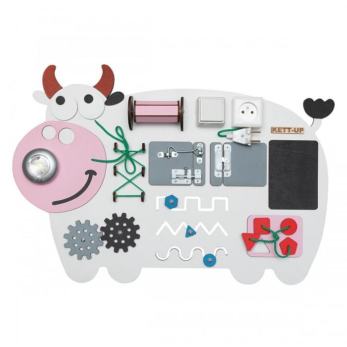 Деревянные игрушки Kett-Up Бизиборд Добрая коровка