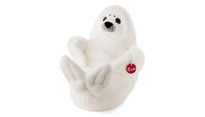 Мягкая игрушка Trudi Белый Тюлень 28 см