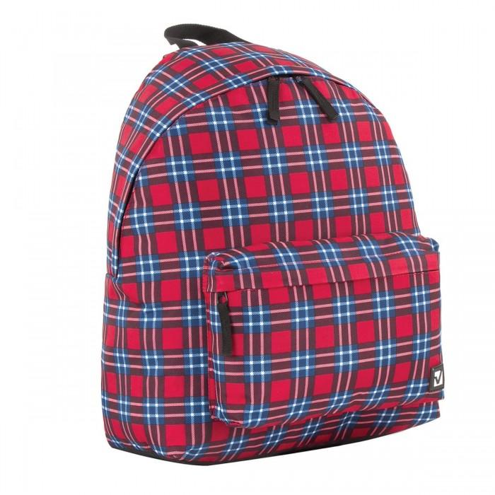 Школьные рюкзаки Brauberg Рюкзак универсальный сити-формат Шотландская клетках