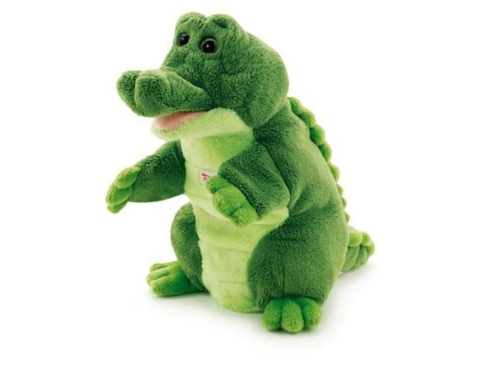 Trudi Игрушка на руку Крокодил 25 см фото