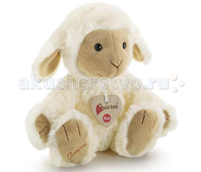 Мягкая игрушка Trudi Овечка 25 смОвечка 25 смМягкая игрушка Trudi Овечка 25 см. Привлекательная овечка вызывает чувство нежности. Забавная игрушка овечка обязательно понравится каждому, кто её увидит, независимо от его возраста.   Симпатичная овечка станет верным другом вашему малышу. Невероятно мягкая на ощупь игрушка подарит вашему ребенку нежность и утешит в грустную минуту. Достаточно крепко прижать овечку к себе, и ваш ребенок почувствует все тепло и заботу, с которыми создана эта игрушка.<br>