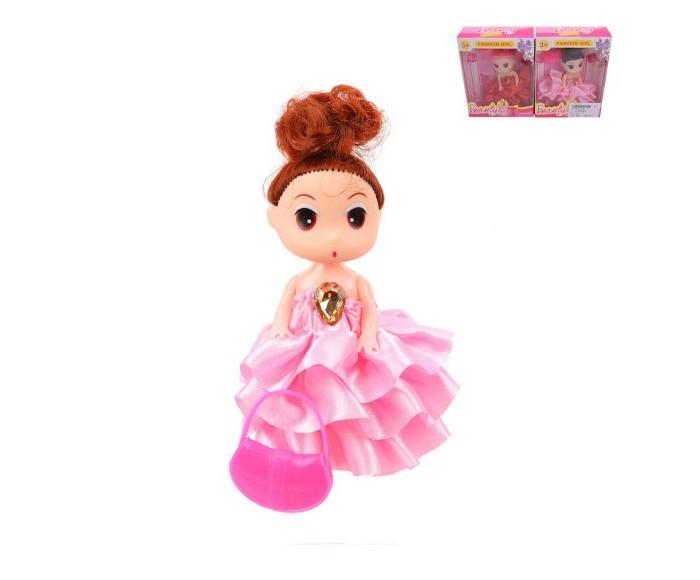 Фото - Куклы и одежда для кукол Наша Игрушка Куколка Модница 8,9 см с аксессуаром сумки для детей наша игрушка сумочка радуга 20х16 см