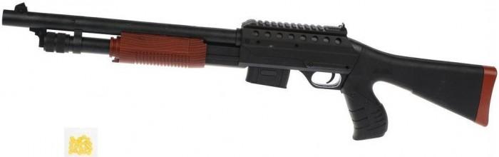 Фото - Игрушечное оружие Наша Игрушка Автомат механический с пулями 10 шт. B00137 автомат с трещеткой 23см наша