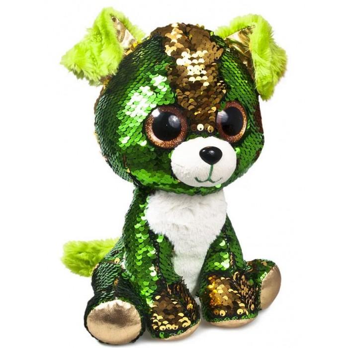 Фото - Мягкие игрушки Fancy глазастик Щенок Изумруд мягкие игрушки fancy бегемот с зелёным бантиком