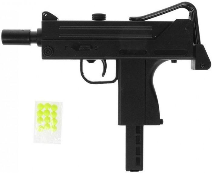 Фото - Игрушечное оружие Наша Игрушка Автомат механический ES447-719PB автомат с трещеткой 23см наша
