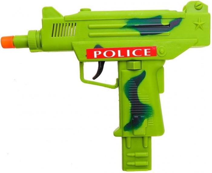 Фото - Игрушечное оружие Наша Игрушка Автомат механический с трещеткой 3265-4 автомат с трещеткой 23см наша