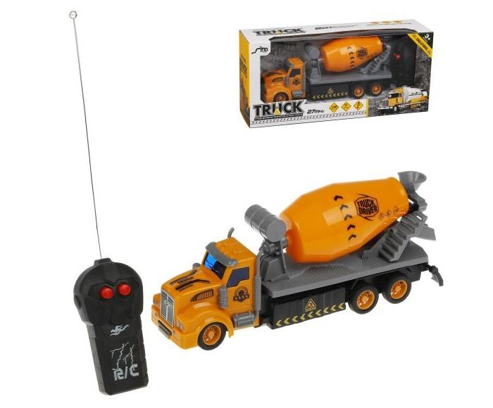 Радиоуправляемые игрушки Наша Игрушка Машина на радиоуправлении Бетоновоз 2 канала