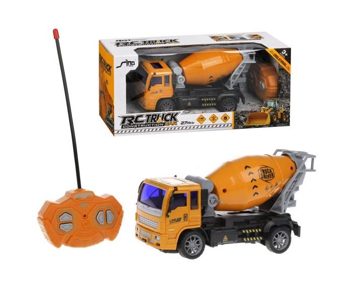 Машины Наша Игрушка Машина на радиоуправлении Бетоновоз 4 канала машина бетоновоз инерц свет звук эл пит ag13 3шт не вх в комплект коробка