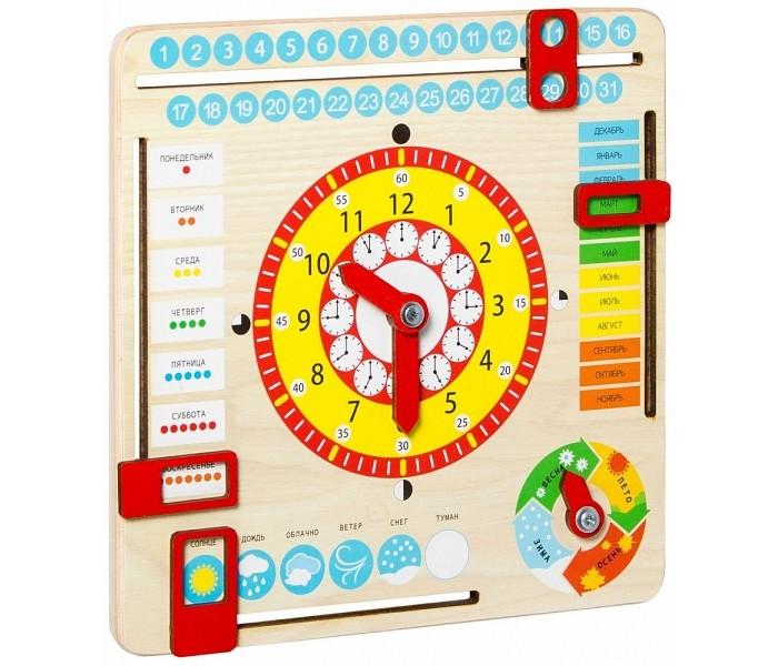 Развивающая игрушка Dream makers Часы и календарь KD2