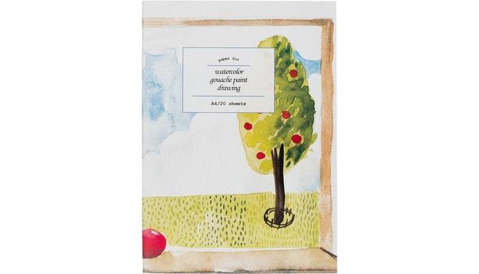 Принадлежности для рисования №1 School Папка для рисования акварелью А4 20 листов де винтон харриет botanical painting вдохновляющий курс рисования акварелью