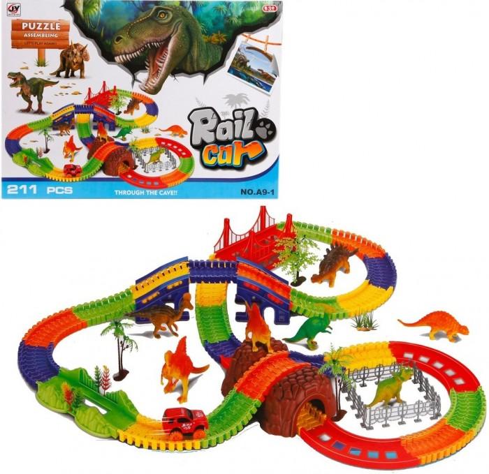 Наша Игрушка Автотрек Динозавры (211 деталей) от Наша Игрушка