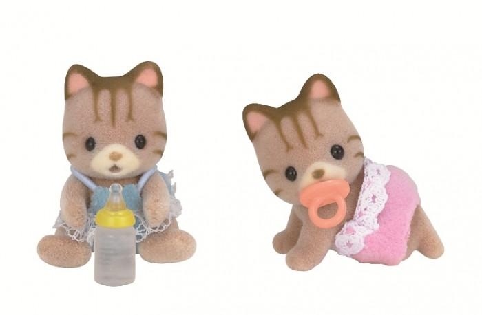 Купить Sylvanian Families Набор Полосатые котята-двойняшки в интернет магазине. Цены, фото, описания, характеристики, отзывы, обзоры