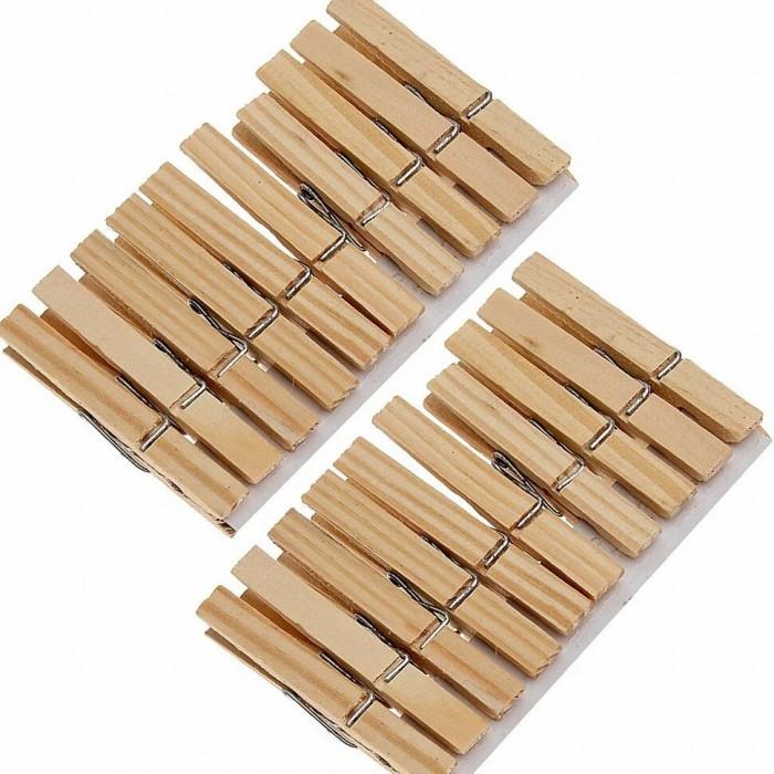Хозяйственные товары SweetSun Прищепки бельевые деревянные 20 шт.