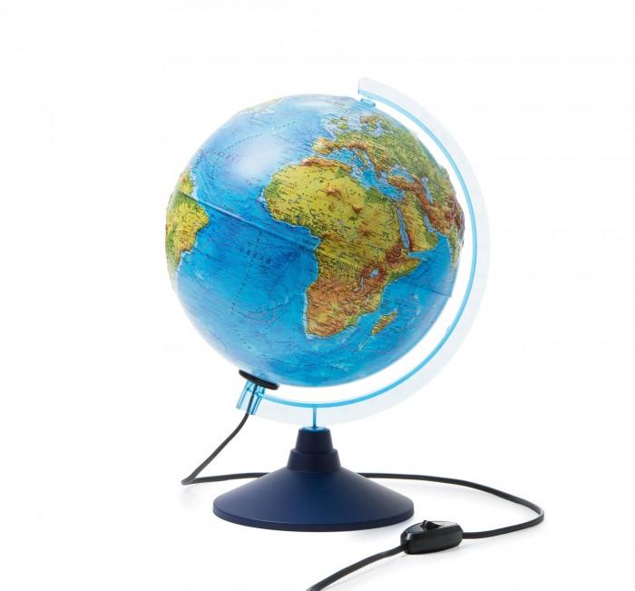 Globen Глобус Земли физико-политический интерактивный с подсветкой D-250 мм