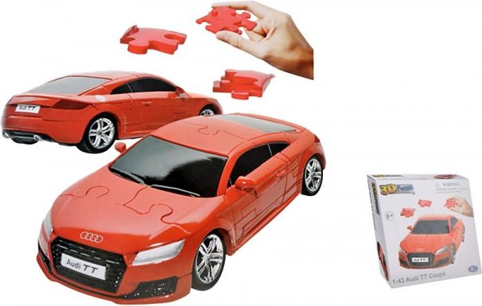 Конструктор Happy Well Audi TT Coupe 3D Puzzle Non Assemble 1:43