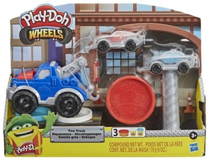 Пластилин Hasbro Игровой набор Плей-До Wheels Эвакуатор