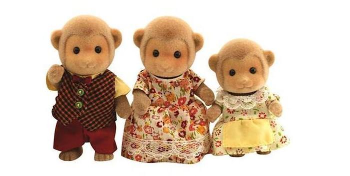 Игровые наборы Sylvanian Families Набор Семья Обезьян sylvanian families набор фигурок семья белок