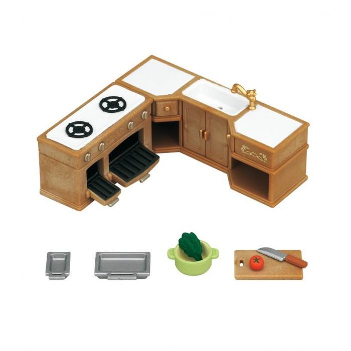 Кукольные домики и мебель Sylvanian Families Набор Кухонный гарнитур sylvanian families набор кухонный гарнитур