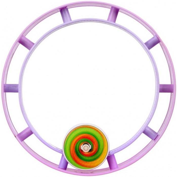 Фото - Развивающие игрушки Наша Игрушка Бегущее колесо заводное Радуга сумки для детей наша игрушка сумочка радуга 20х16 см