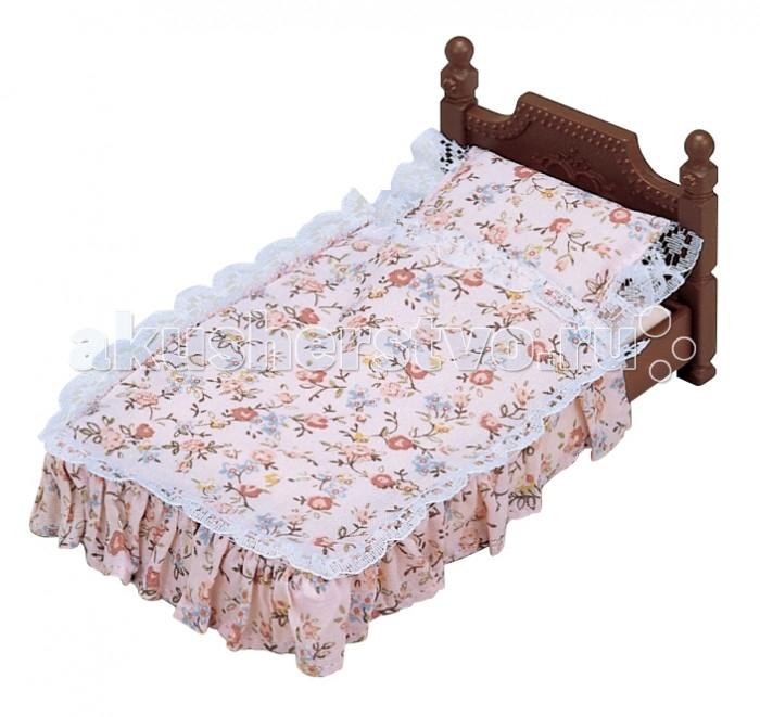 Кукольные домики и мебель Sylvanian Families Набор Большая кровать