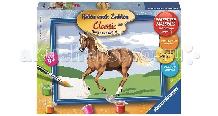 Картины по номерам Ravensburger по номерам Лошадь в поле ravensburger картина по номерам лошадь в поле