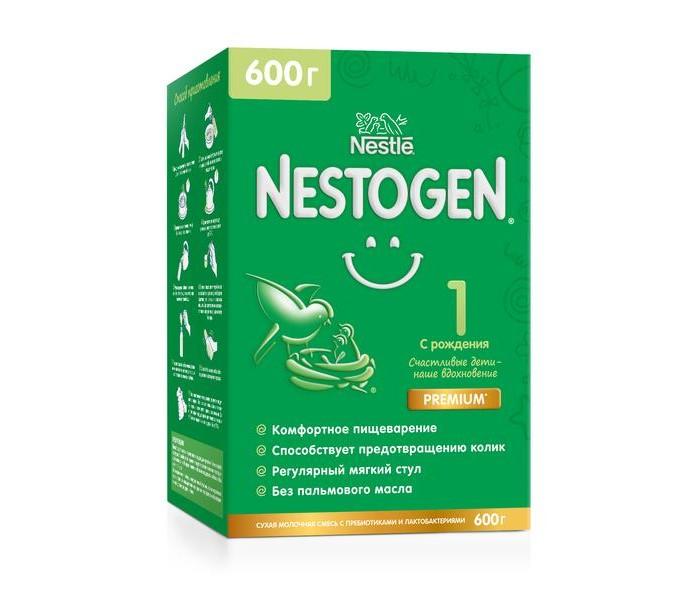 Фото - Молочные смеси Nestogen 1 Сухая молочная смесь для регулярного стула с 0 мес. 600 г сухие nestogen молочная смесь nestogen 1 с рождения 700 г