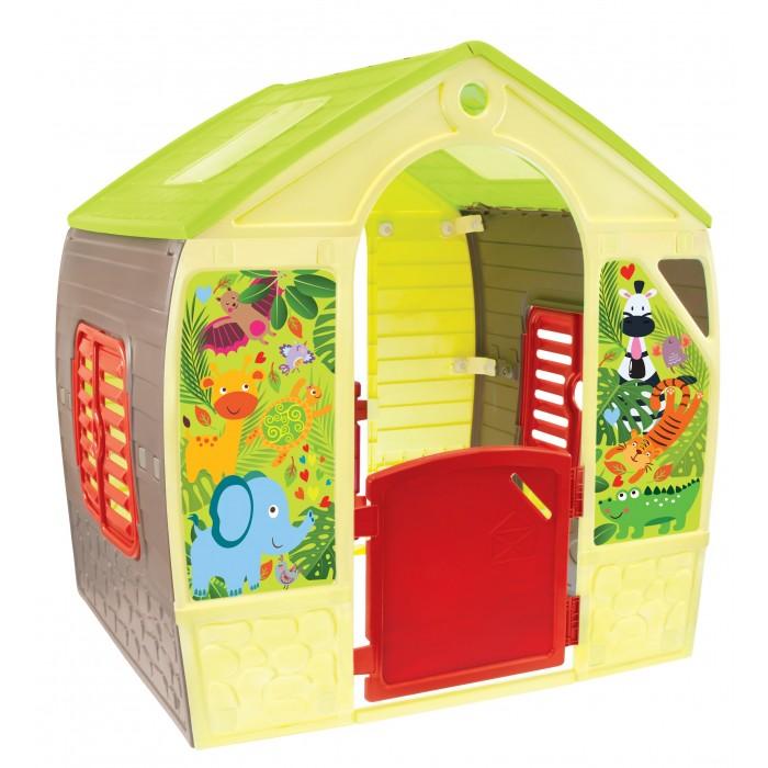 Фото - Игровые домики Mochtoys Домик игровой mochtoys раскраска картонный домик 10721