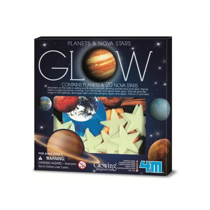 Наборы для творчества 4М Набор Светящиеся планеты и звезды