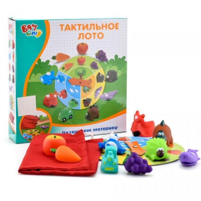 Купить Игры для малышей, Bambini Настольная игра Тактильное лото