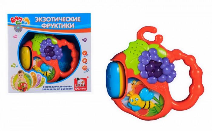 Погремушки Bambini Интерактивная Экзотические фруктики