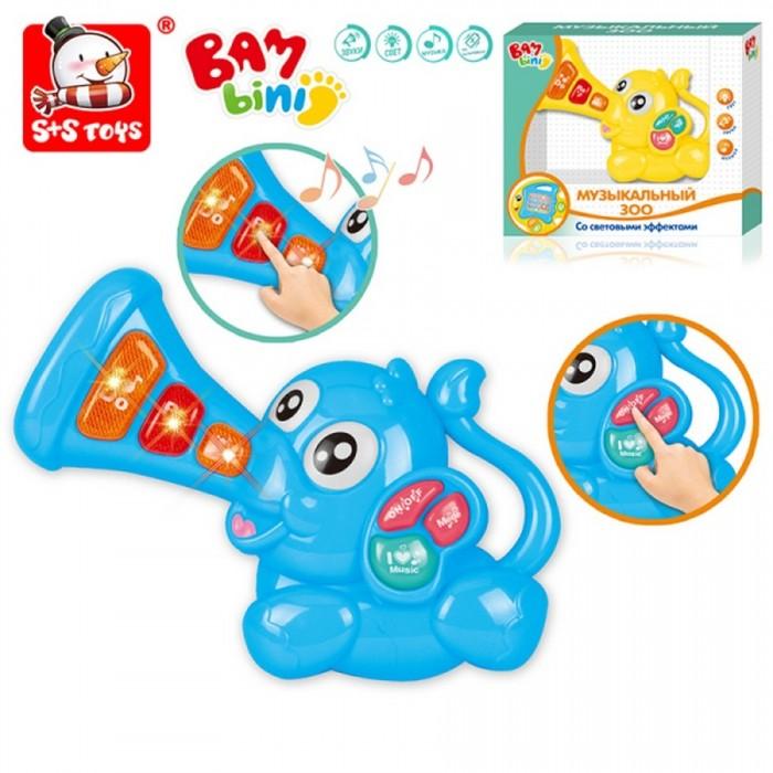 Развивающие игрушки Bambini Пианино Музыкальный Зоо Слоник
