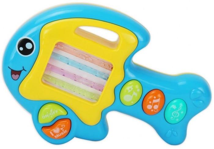Развивающие игрушки Bambini Пианино Музыкальный Зоо Рыбка