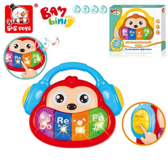 Развивающие игрушки Bambini Пианино Музыкальный Зоо Обезьянка цена 2017